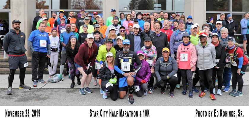 2019-11-23-Star City Half Marathon and 8k